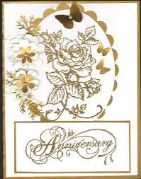 50th Wedding Anniversary Invitation Cards Wedding Card Design Golden Glitters Rose Flower Depiction