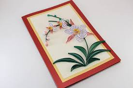 quilling card beautiful birthday card handmade paper