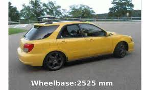yellow subaru wagon 2003 subaru impreza station wagon ii u2013 pictures information and