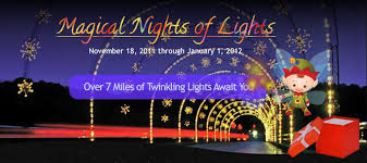 some more info about lake lanier magical nights of lights