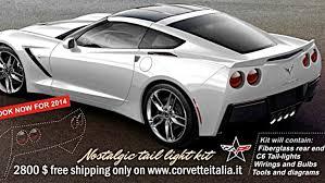 c7 corvette aftermarket 2014 chevrolet corvette c7 stingray gets aftermarket c6 rear end