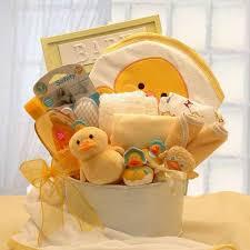 Bath Gift Basket Infant Baby Bath Gift Set Duck Infant And Baby Bath Gear