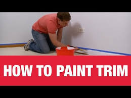 how to paint wall trim ace hardware youtube