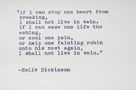 wedding quotes emily dickinson emily dickinson quote typed on a vintage typewriter emily