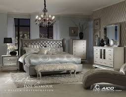 hollywood swank crystal croc bedroom collection