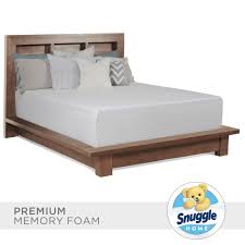 Bed Bath And Beyond Memory Foam Snuggle Home Queen Size 14