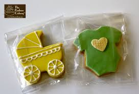 Cookie Favors by Sugar Cookie Favors Pram And Onesies The Hudson Cakery