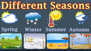 weather different seasons learn about autumn winter spring
