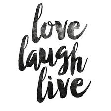 Love Laugh Live Printable Wisdom Inspirational Print From Lifeandstyleprint On