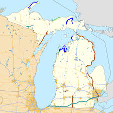 Wisconsin Scenic Drives Map Pure Michigan Byway Wikipedia