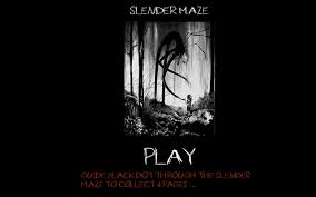 slender maze scary prank news dark horror games online games