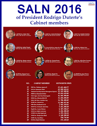 Members Of British Cabinet Villar Is Richest Member Of Duterte Cabinet Untv News Untv News