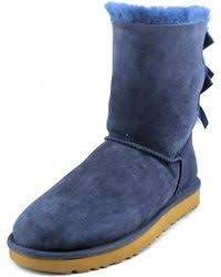 ugg womens boots bailey bow ugg bailey bow ii boots save 49 lyst
