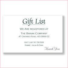 wedding gift list poems wedding invitation gift list poem wedding invitation