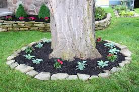 Landscaping Ideas Around Trees Fascinating Flower Beds Around Tree Ideas For Your Yard