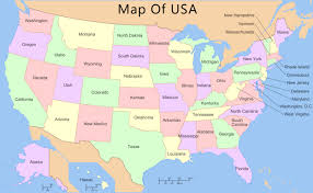 Dialect Map Usa Map Of East Coast Usa And Europe At Maps Inside Grahamdennis Me