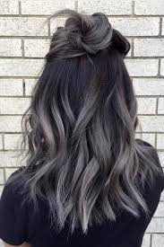 hombre style hair color for 46 year old women 27 try grey ombre hair this season grey ombre hair gray ombre
