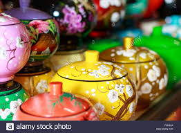 collection of ceramic teapots for sale in mekong delta cantho