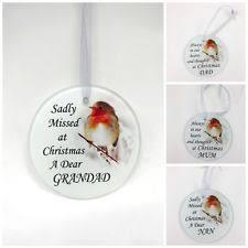 robin christmas tree decoration ebay