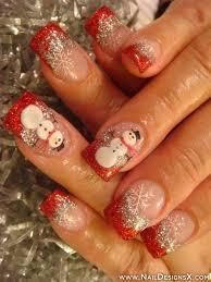 snow man nail design nail designs u0026 nail art holidays nail
