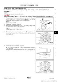 nissan 350z oil capacity nissan 350z 2007 z33 power steering system workshop manual
