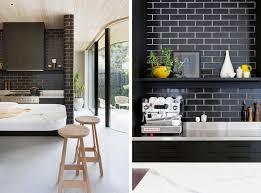 backsplash black tile kitchen backsplash black subway tile