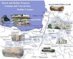 somerset map the somerset map of towns and villages and somerset attractions