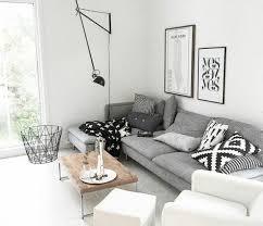 canape gris et blanc déco salon suggestion salon gris et blanc couleur peinture