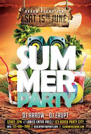summer event flyers