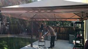 Patio Cafe Lights by How To Install Enbrighten Cafe Lights Youtube