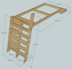 Free Plans For Loft Beds With Desk by Loft Beds With Bookshelf Ladders 14 Steps With Pictures