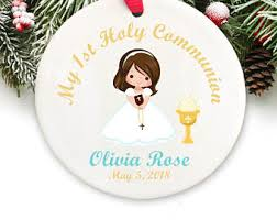 communion christmas ornament ornaments etsy