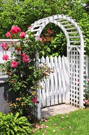 Arbors And Trellises Three Ways To Turn A Garden Gate Into A Garden Focal Point U2013 Twin