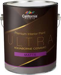 ultra aquaborne ceramic interior paint california paints