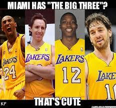 Lakers Meme - lakers starting five 2012 2013 ryan pinterest meme