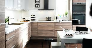 cuisine blanc et bois cuisine bois ikea globr co