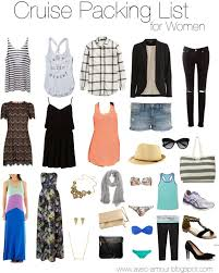 what to pack for a cruise cruise packing guide for