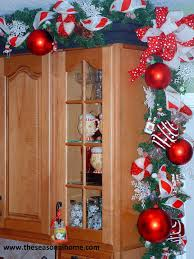 christmas decoration ideas for kitchen pictures of homes decorated for christmas on the inside part 41