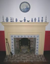 colonial fireplace binhminh decoration