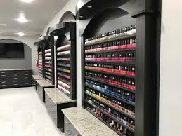 mansion nail salon in texas features 2 nail bars man cave abc7 com