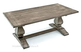 Trestle 72 Reclaimed Wood Rectangular Dining Table Excellent Rustic