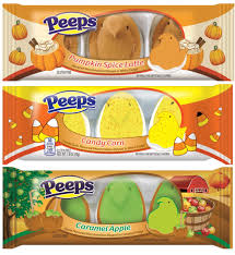 halloween peeps candy peeps fall flavors marshmallow assortment 3 pack