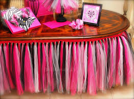black tulle table skirt tulle table skirts rose pink pink black and white tutu table skirt