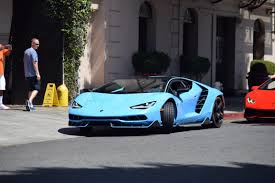 slowest lamborghini only a blue cepheus lamborghini centenario could take the