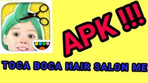 toca boca hair salon me apk toca boca hair salon me berbercilik d