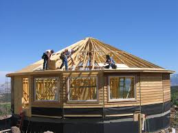 Prefabricated Roof Trusses Prefab Home Construction Home Building Deltec Homes