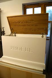 How To Build A Wooden Toy Box by Personalised Wooden Toy Boxes As Made For Prince George Mmss