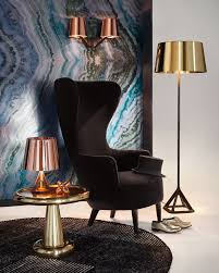 base floor lamp polished brass by tom dixon interior deluxe