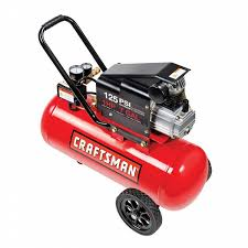 craftsman 7 gallon portable horizontal air compressor with hose