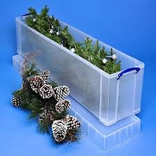 christmas tree storage box go shopping really useful boxes 77 litre really useful box